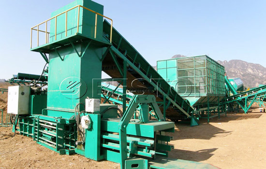 Beston garbage sorting plant for sale