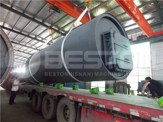 Tyre Pyrolysis Machine to South Africa